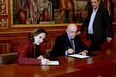 Mon, 18/09/2017 - 13:14 - L'Oficina Antifrau de Catalunya i l'Ajuntament de Barcelona uneixen esforços per coordinar-se en la lluita contra la corrupció