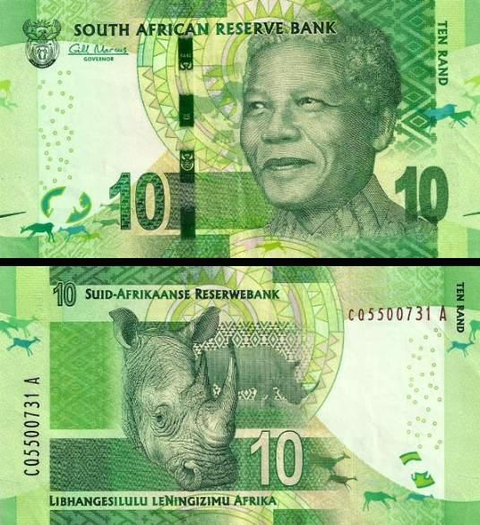 10 Randov Južná Afrika 2013, Mandela P138