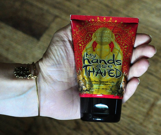 Perfectly Posh My Hands Are Thaied