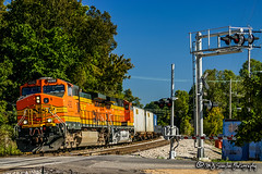 BNSF 4092 | GE C44-9W | BNSF Thayer South Subdivision