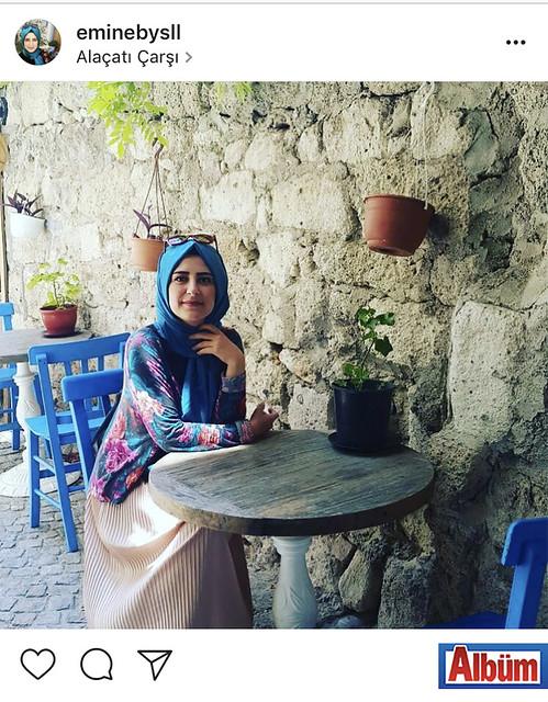 Emine Baysal, Alaçatı Çarşı'dan bu fotoğrafı paylaştı.