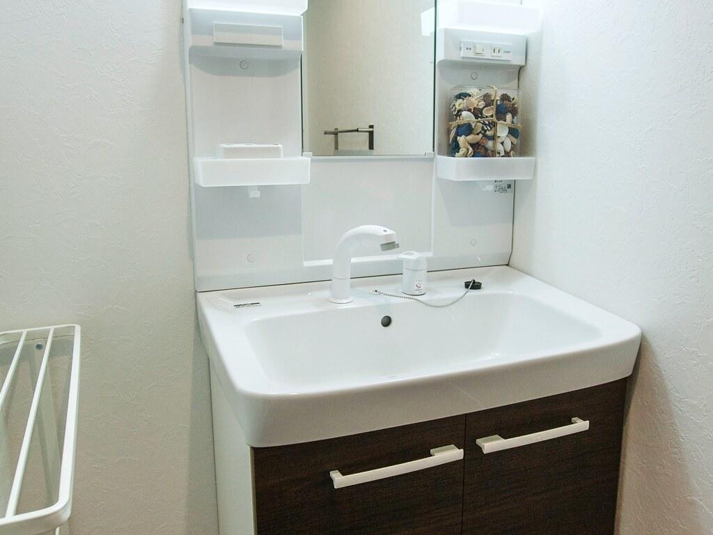 リノベーション後・洗面スペース