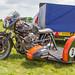 Lydden Hill August 2016 Paddock Sidecar Moto Guzzi Le Mans No 2 001B
