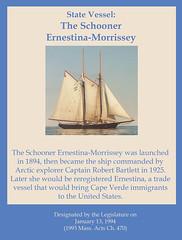State Vessel: The Schooner Ernestina-Morrissey