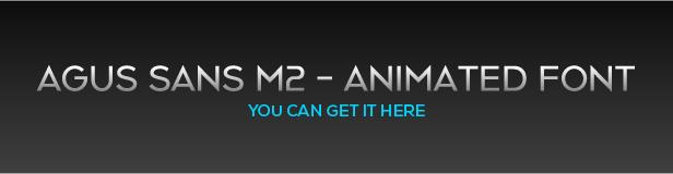 Agus Sans M2 - Animated Font