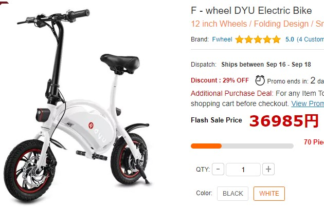 F - wheel DYU Electric Bike01