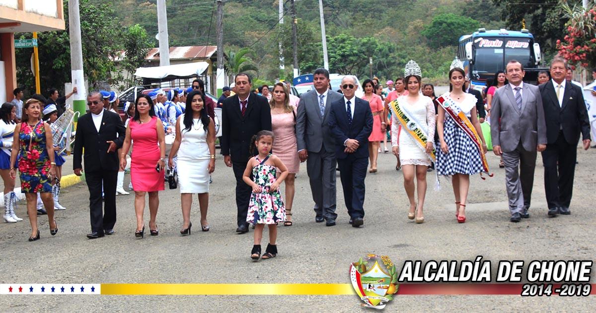Ricaurte celebró 110 años de parroquialización