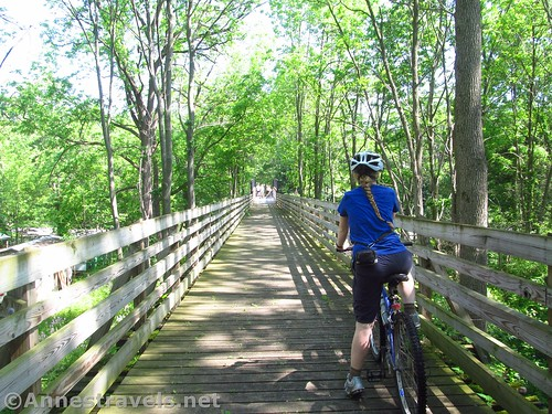 Did I mention that something the Ontario Pathways does well is having plenty of bridges? New York