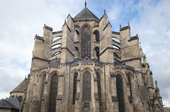 East side of Soissons Cathedral - Photo of Mercin-et-Vaux