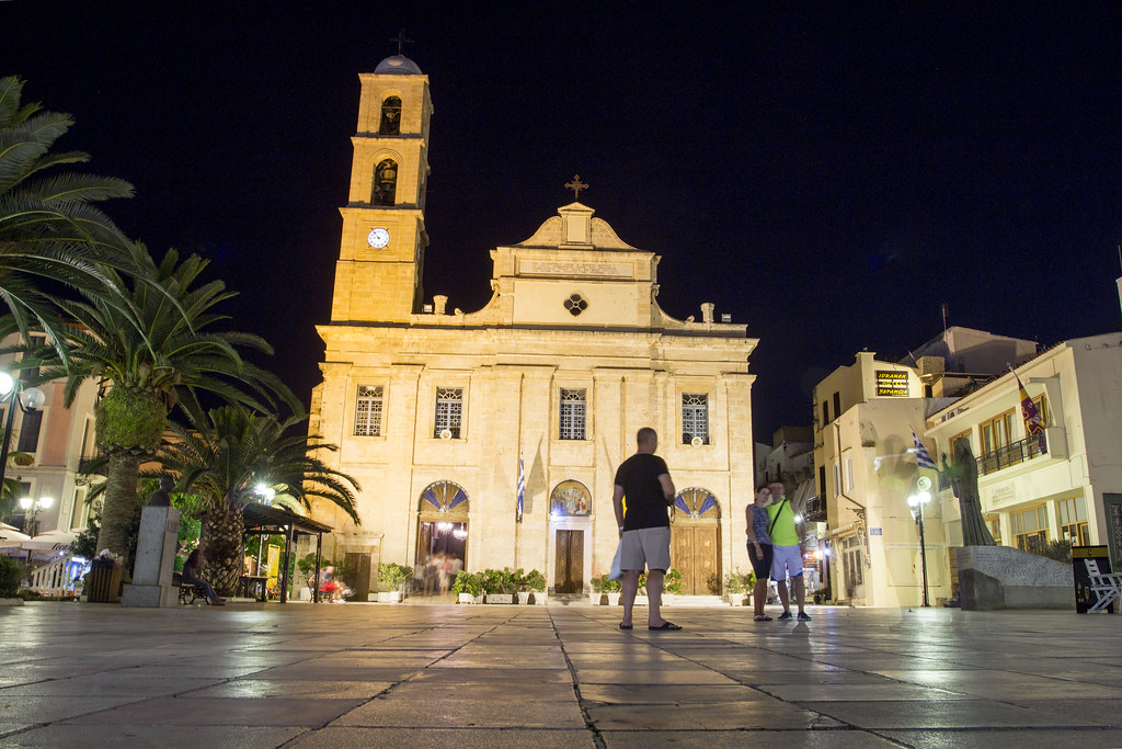 Church of Agios Nikolaos in Chania - Crete, Greece