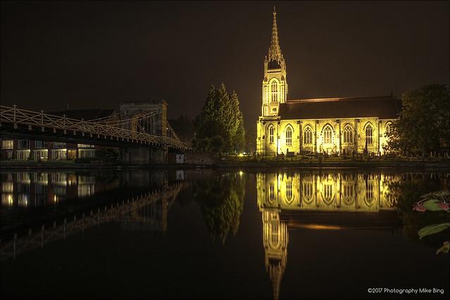 Marlow bridge & church