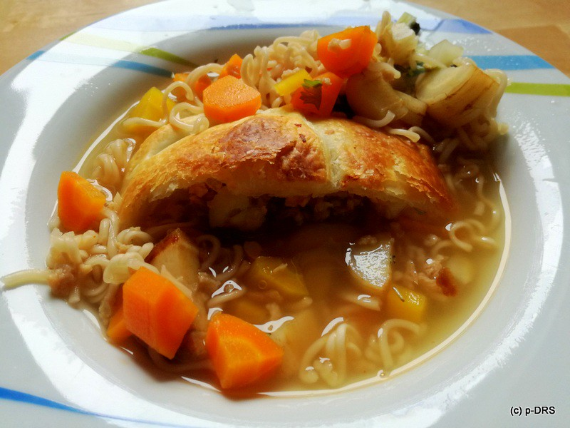 Vleisch-Strudel-Suppe