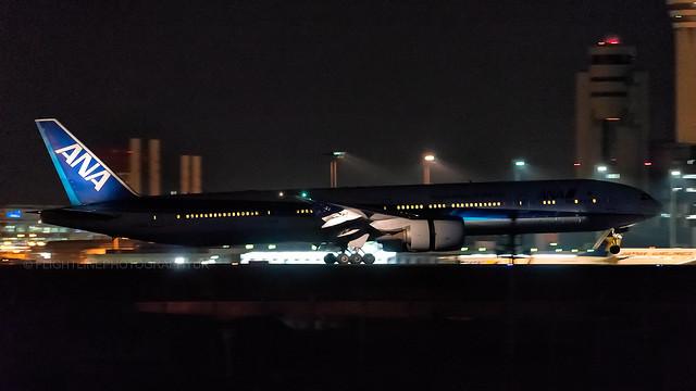 JA786A | Boeing 777-300(ER) | ANA | Tokyo Haneda | April 2017