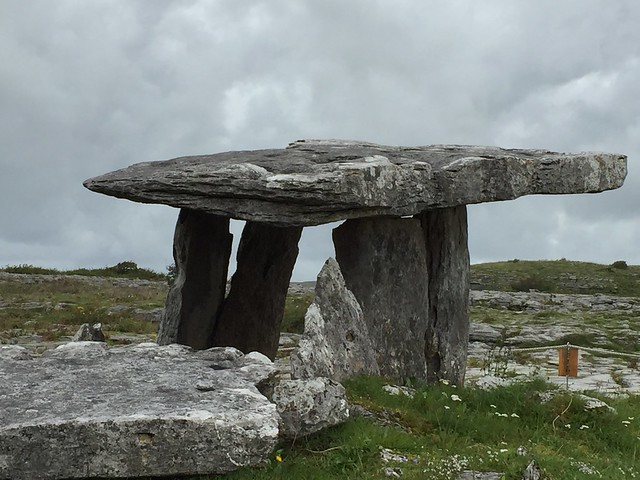 Poulnabrone Dolmen on the Burren