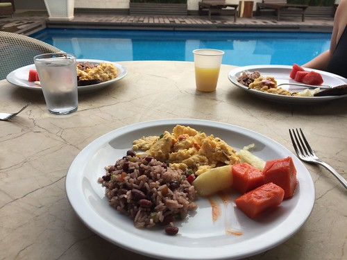 Gallo pinto. Costa Rica's Motto, Pura Vida, Comes Through in Its Humble Dish, Gallo Pinto