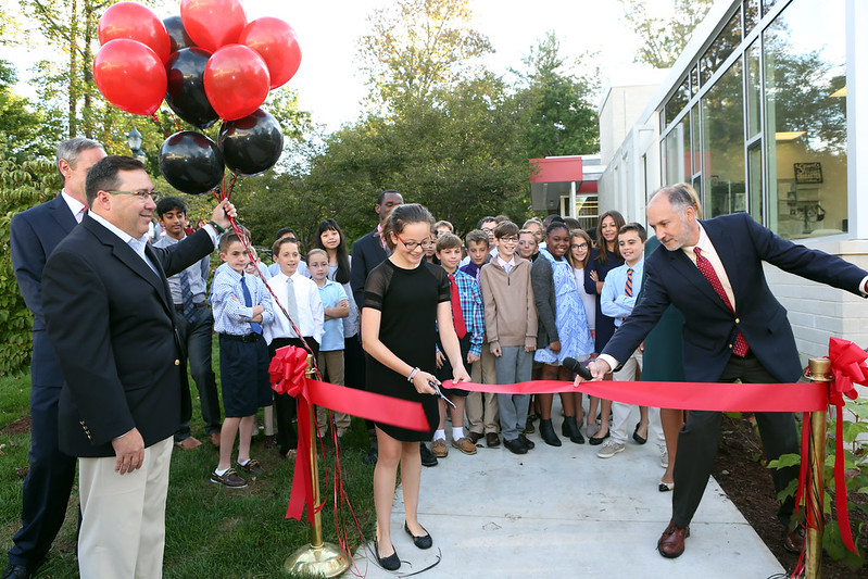Hun Middle School Ribbon Cutting