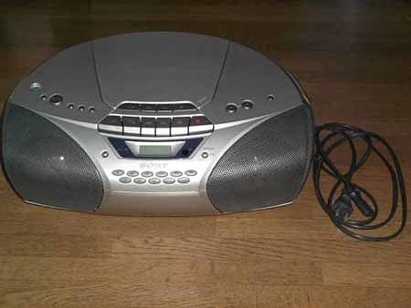 Sony CD RADIO CASSETTE-CORDER CFD-5250
