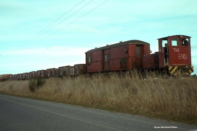 Methven - Tr18 on the rear of the last train from Bryan Blanchard