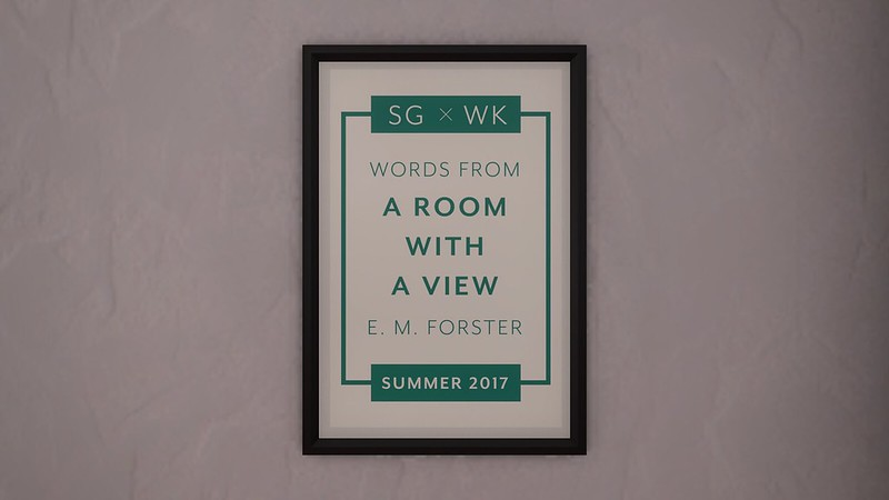 A Room With A View // Poster