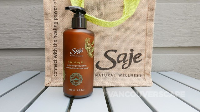 Saje The King & I body lotion