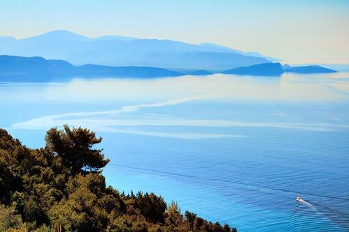 parga epirus greece ammoudia