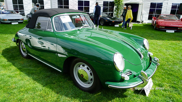 1965 Porsche 356C Convertible Coachwork by Reutter