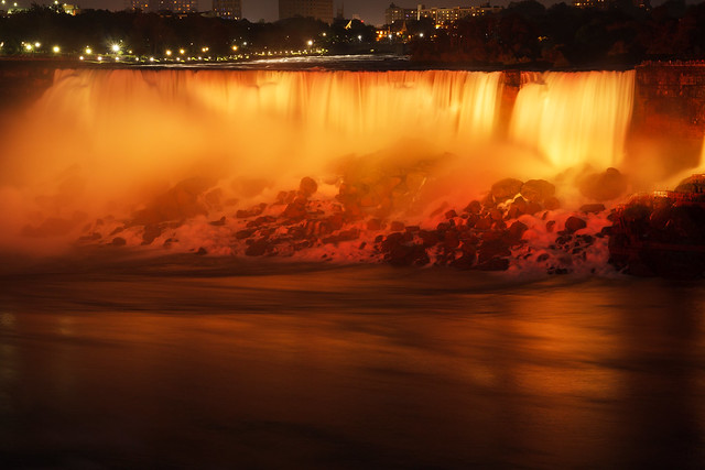 Illumination der Niagarafälle, Canon EOS 450D, Tamron AF 17-50mm f/2.8 Di-II LD Aspherical