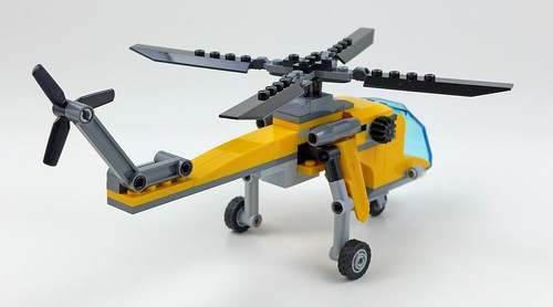 LEGO City Jungle 60158 Jungle Cargo Helicopter 43