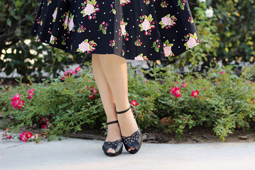 Stop Staring Swing Dress in Cherry Blossom Print