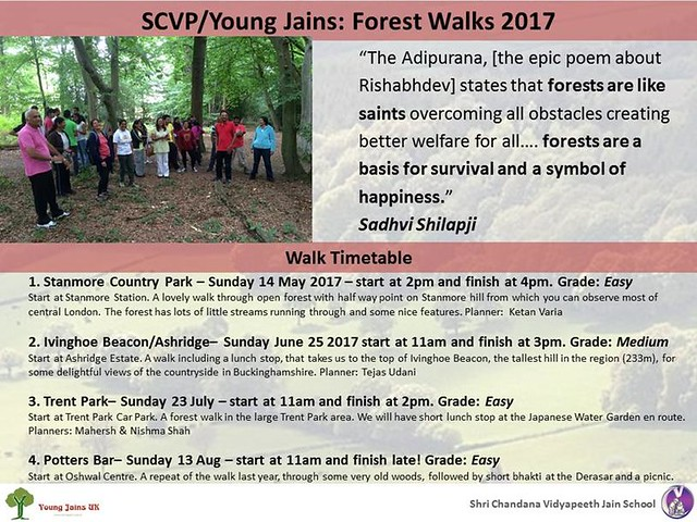 2017.08.13 SCVP & Young Jains Forest Walk