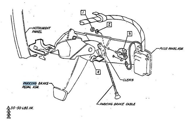 emergency brake switch