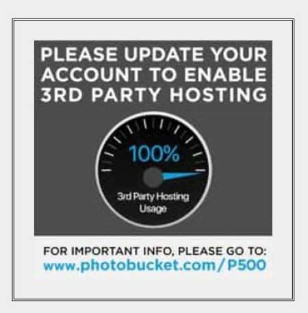 PleaseUpdateYourAccountTo3rdPartyHosting