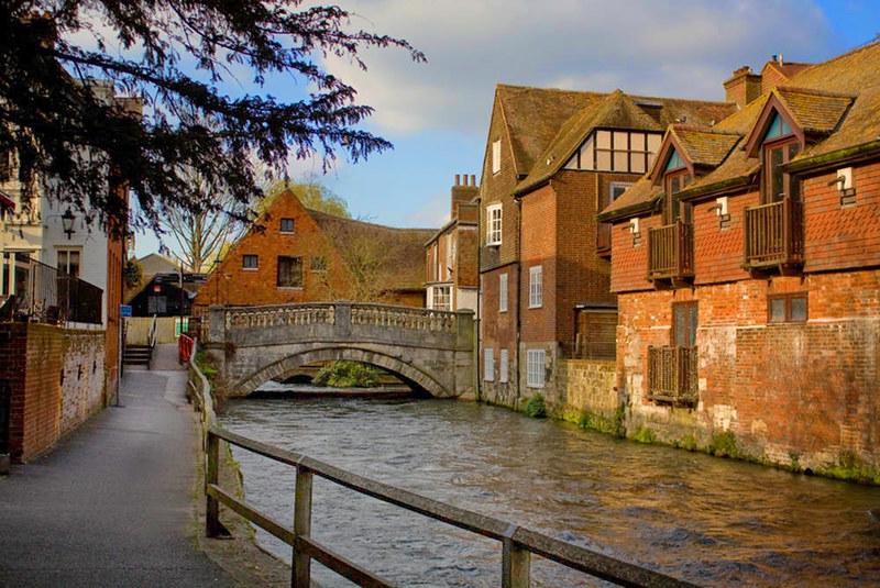 River Itchen, Winchester. Credit Johan Bakker