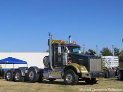 Kerr Contractors Kenworth T800W, Truck# TR 538