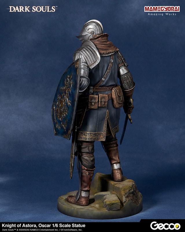 被剝奪生命的無名騎士... Gecco《黑暗靈魂》亞斯特拉的上級騎士「奧斯卡」(アストラの上級騎士 オスカー)1/6比例雕像
