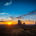 ***Monument Valley Sunrise***
