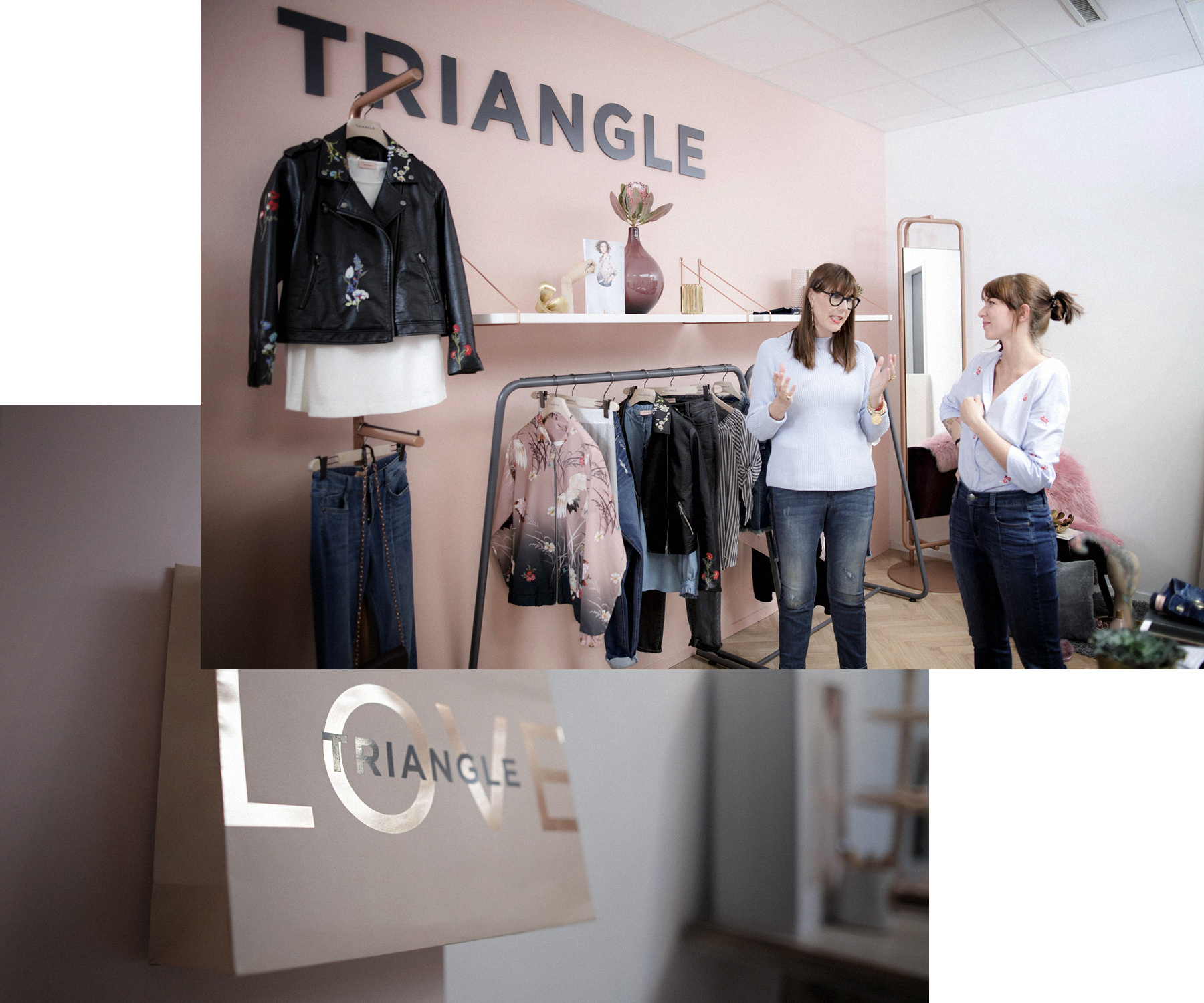 triangle interview business for fashion girls talk fashionblogger rosegold grey minimal scandi style interior brunette bangs cute denim style baby blue cats & dogs modeblog  düsseldorf germany styleblogger outfitblogger ricarda schernus max bechmann 2