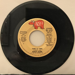ANDY GIBB:TIME IS TIME(RECORD SIDE-A)
