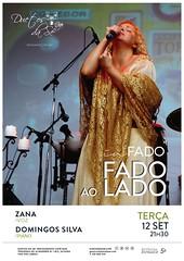 CONCERTO IN FADO - Duetos da Sé - Alfama Lisboa - TERÇA-FEIRA 12 DE SETEMBRO 2017 - 21h30 - FADO AO LADO - Zana - Domingos Silva