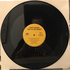 JAMES BROWN:CAN'T GET ANY HARDER(RECORD SIDE-D)