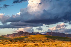 Davis Mountains Dusk - Fort Davis, Texas