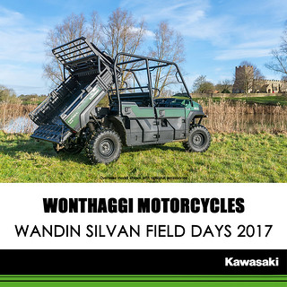 KAWASAKI DEALER EVENTS – Wandin Silvan Field days 2017 – 13th and 14th of October 2017
