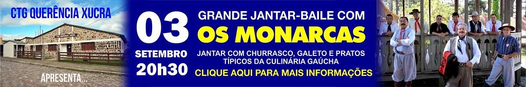 03-09 Jantar-baile Os Monarcas - CTG Querência Xucra