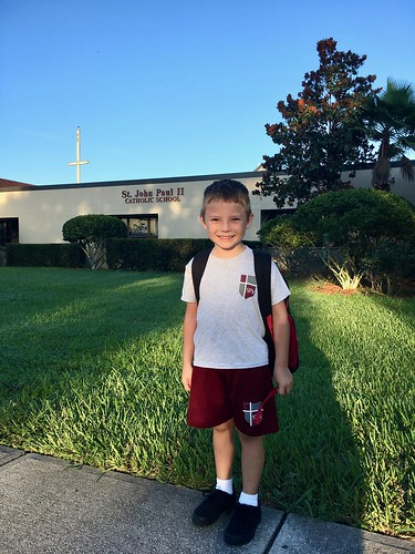 2017 Back to School at Saint John Paul II Catholic School