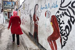 Telling stories to deaf walls~ Lebanon~ Palestinian refugee camp