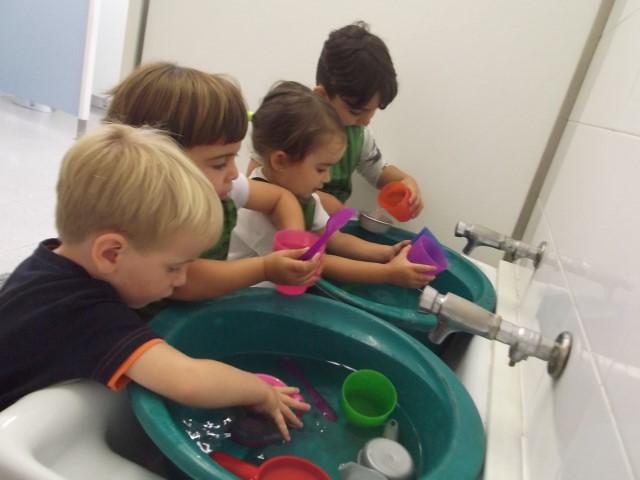 P3B experimentem amb aigua