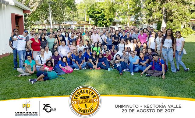 Encuentro de Identidad Misional Fase 1 - Rectoría Valle - Agosto 2017