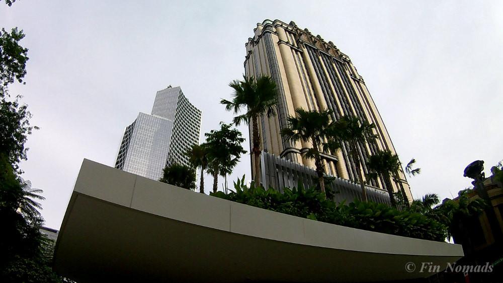 singapore batman building