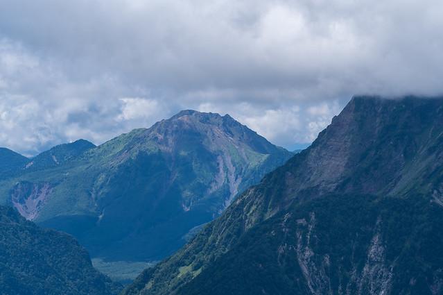 焼岳@瞑想の丘