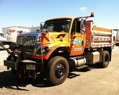 New Jersey Turnpike Authority 2013 International 7400 SFA 4x2 dump-plow - truck No. 479-6